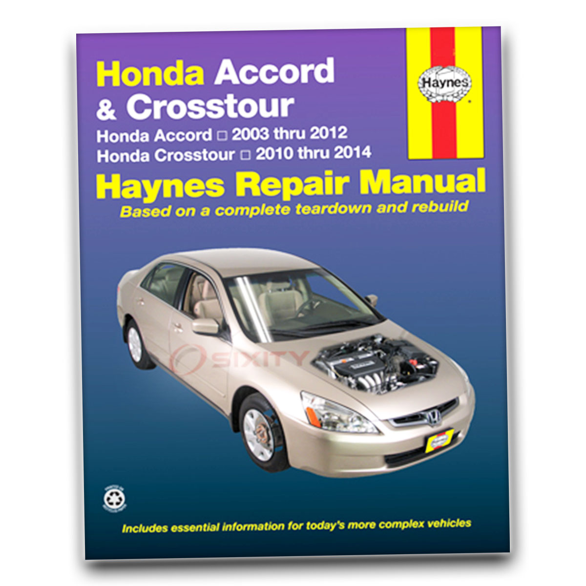Haynes Repair Manual for Honda Accord EX-L Value Package SE Special Edition  he