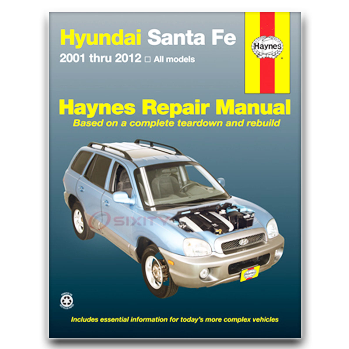 for hyundai santa fe haynes repair manual gls lx base limited se rh ebay com 2001 hyundai santa fe owners manual pdf Hyundai Santa Fe Problem
