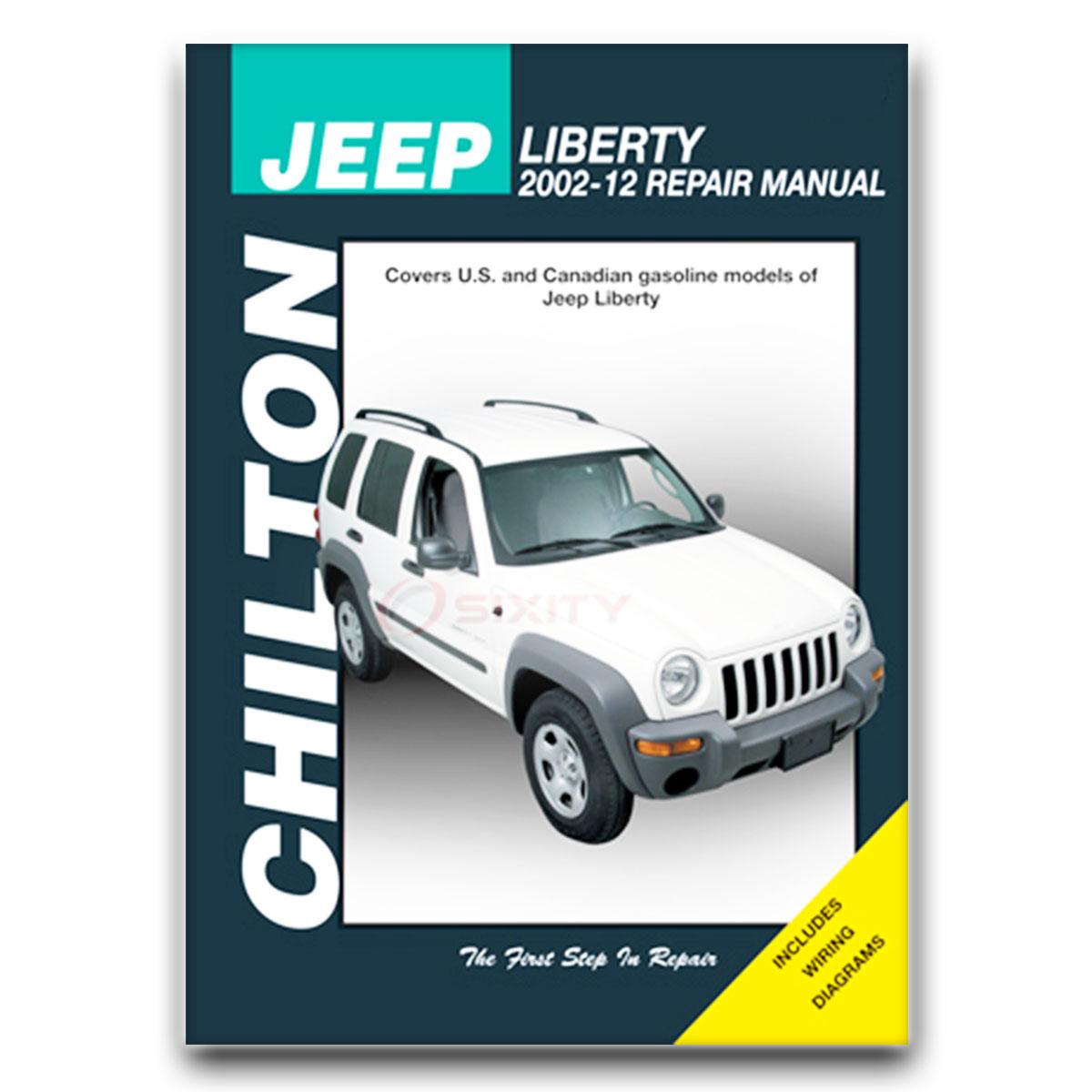 jeep repair diagrams chilton repair manual for 2002 2007 jeep liberty shop service  chilton repair manual for 2002 2007