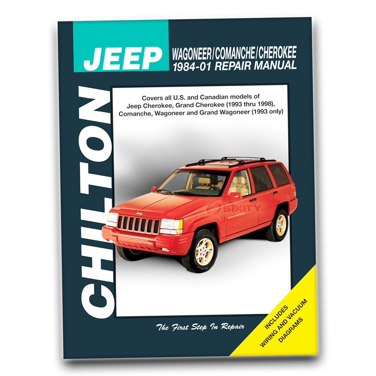 Chilton Repair Manual for Jeep Cherokee Classic Briarwood Country Limited zw