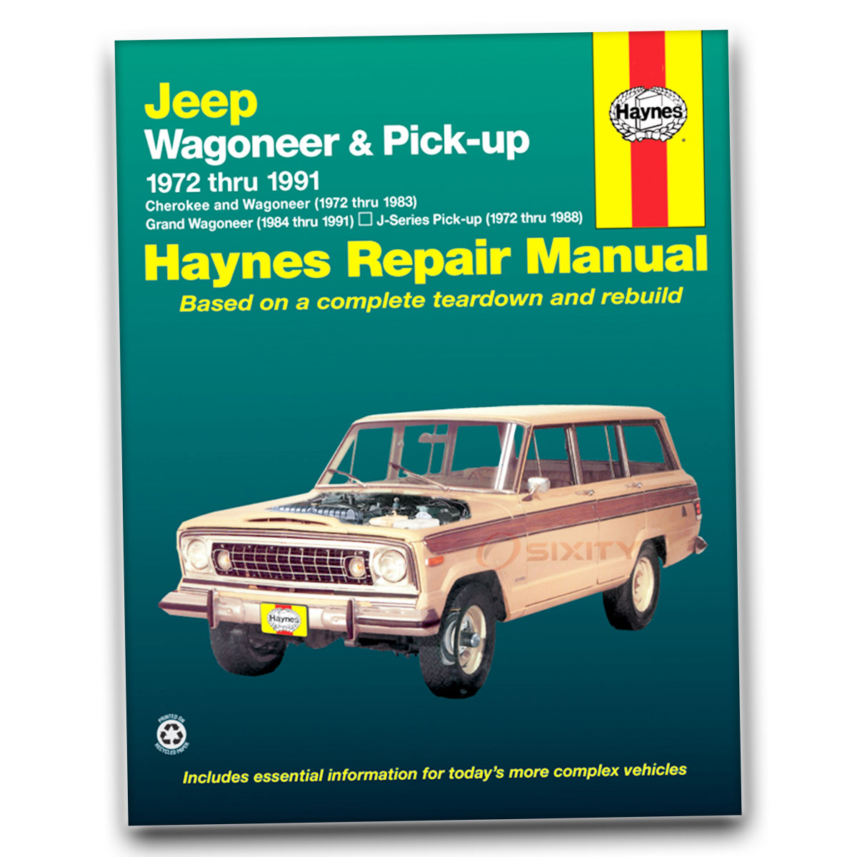 1988 Jeep Cherokee Engine Wiring Diagram Library Source Grand Wagoneer Haynes Repair Manual Base Limited Shop