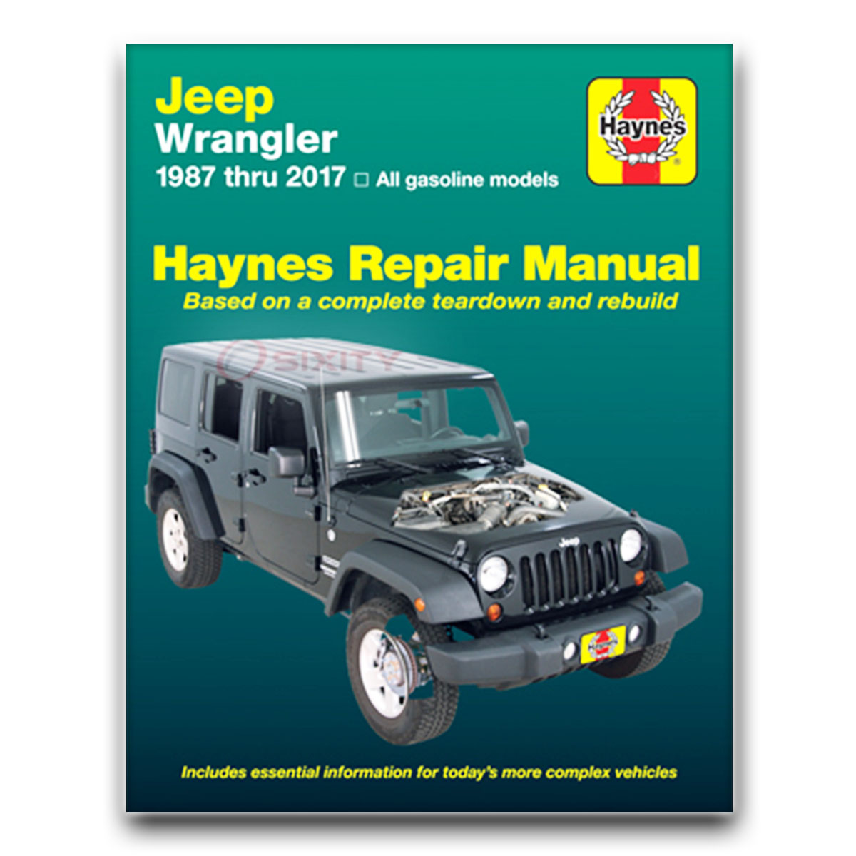 jeep wrangler haynes repair manual s sahara unlimited base renegade rh ebay com Five-Star Rating Five Stars Logo