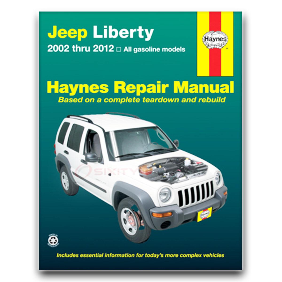 jeep liberty haynes repair manual renegade sport 65th anniversary rh ebay com haynes repair manual jeep grand cherokee pdf haynes repair manual jeep grand cherokee 1993 thru 2004