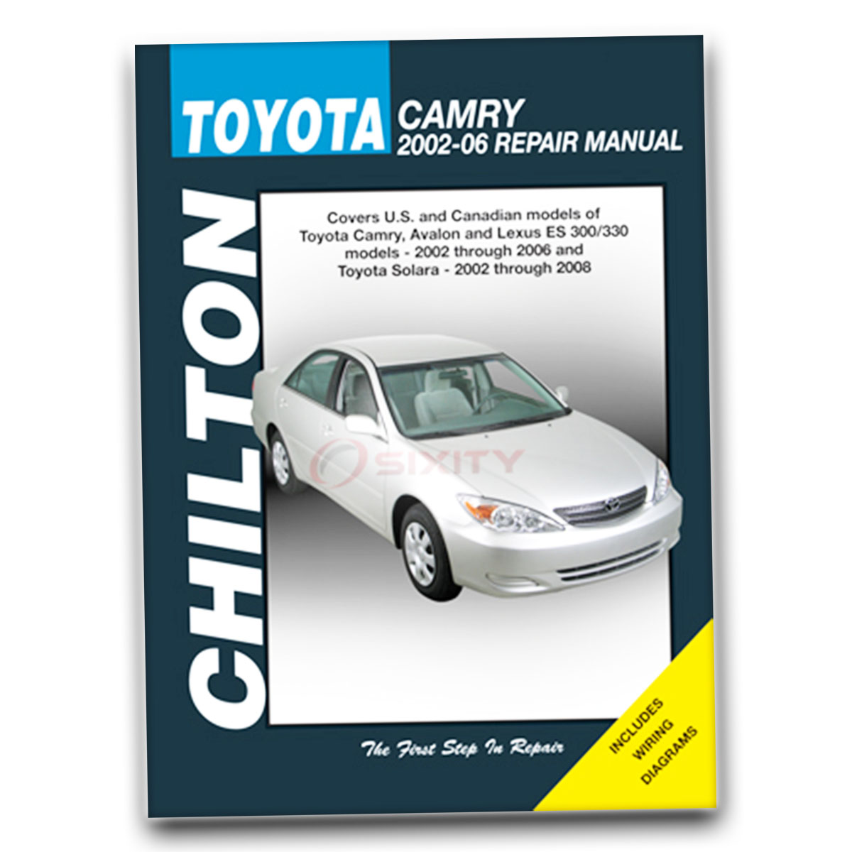 Chilton Repair Manual For 2004-2006 Lexus Es330