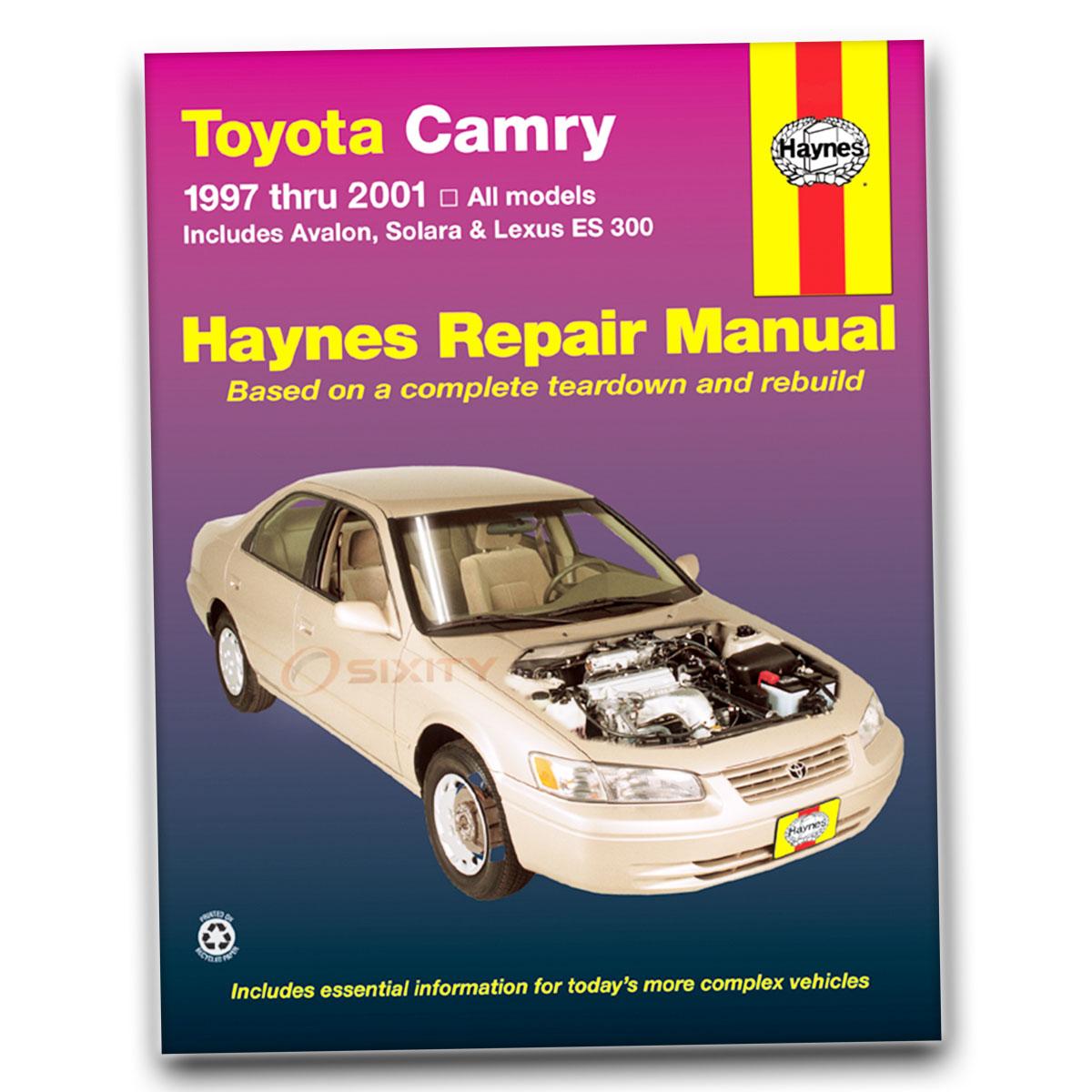 Lexus ES300 Haynes Repair Manual Base Shop Service Garage Book vg