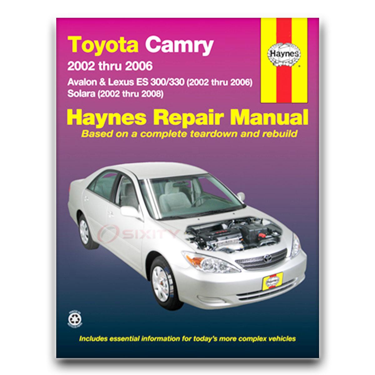 lexus es300 haynes repair manual base shop service garage book iw ebay rh ebay com Lexus Hatch es300h owners manual pdf