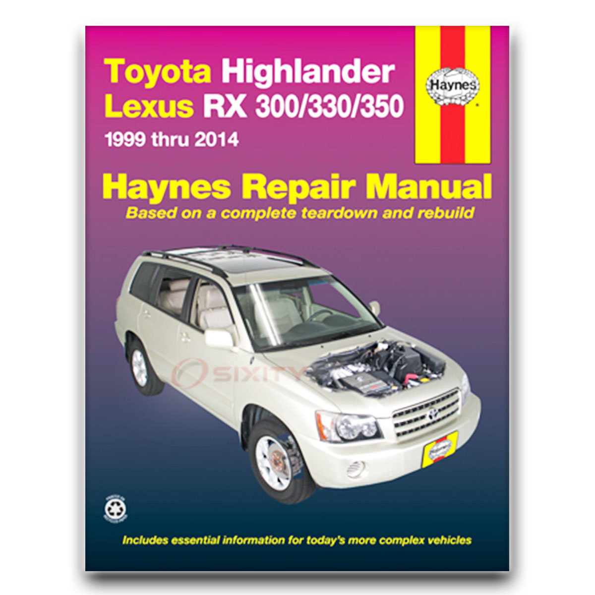 lexus rx300 haynes repair manual base shop service garage book yo ebay rh ebay com lexus rx 300 owners manual lexus rx 300 owners manual