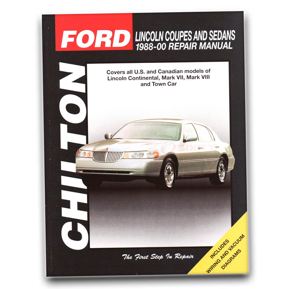 Chilton Repair Manual for Lincoln Mark VIII LSC Anniversary Base Shop fg