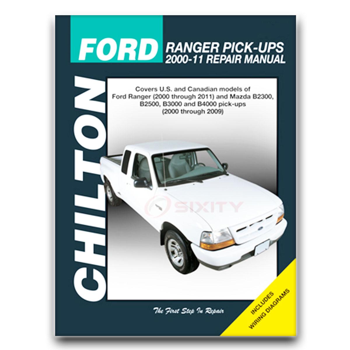Mazda b4000 chilton repair manual troy lee se base ds shop service garage xj