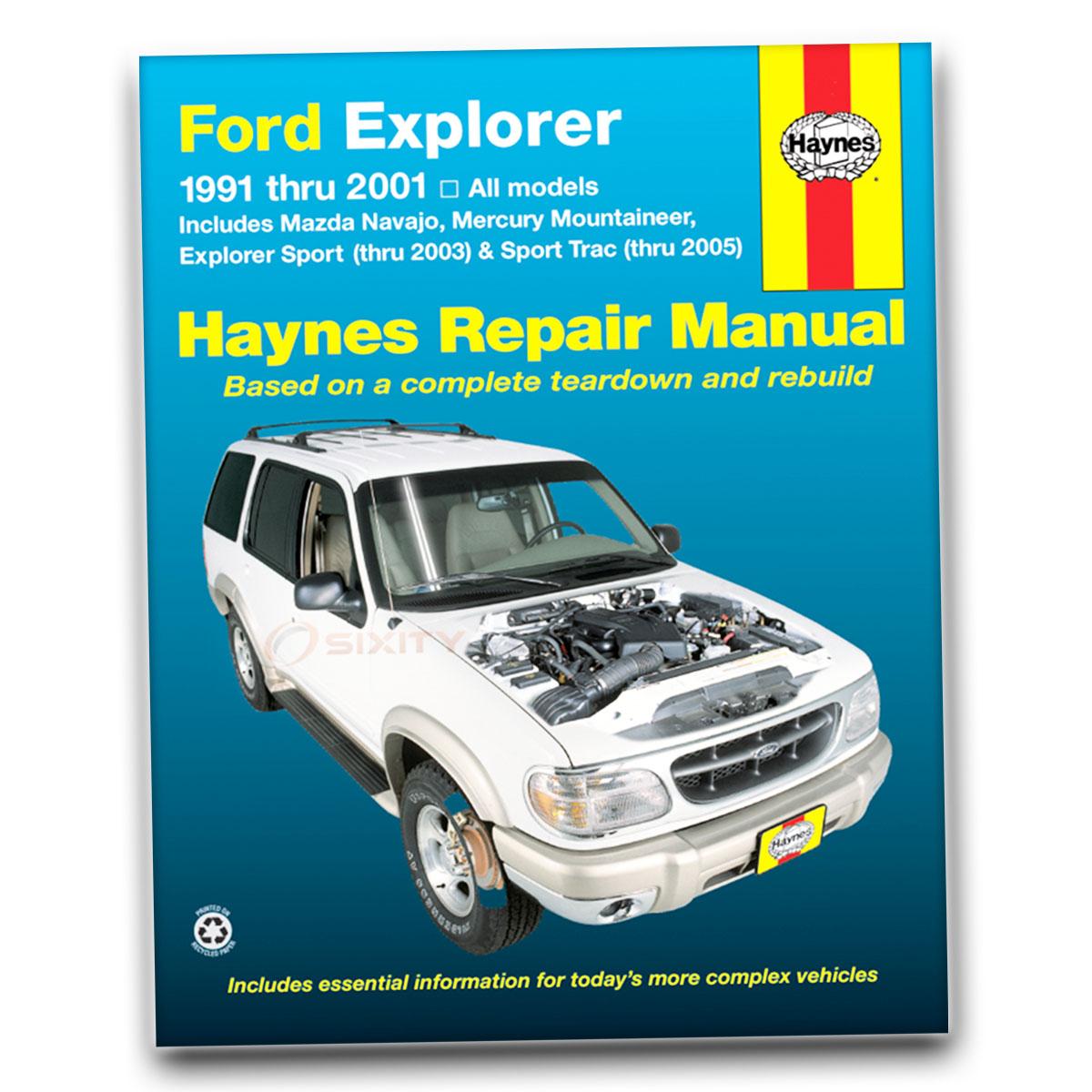 Haynes Repair Manual for Mazda Navajo DX LX Shop Service Garage Book lf