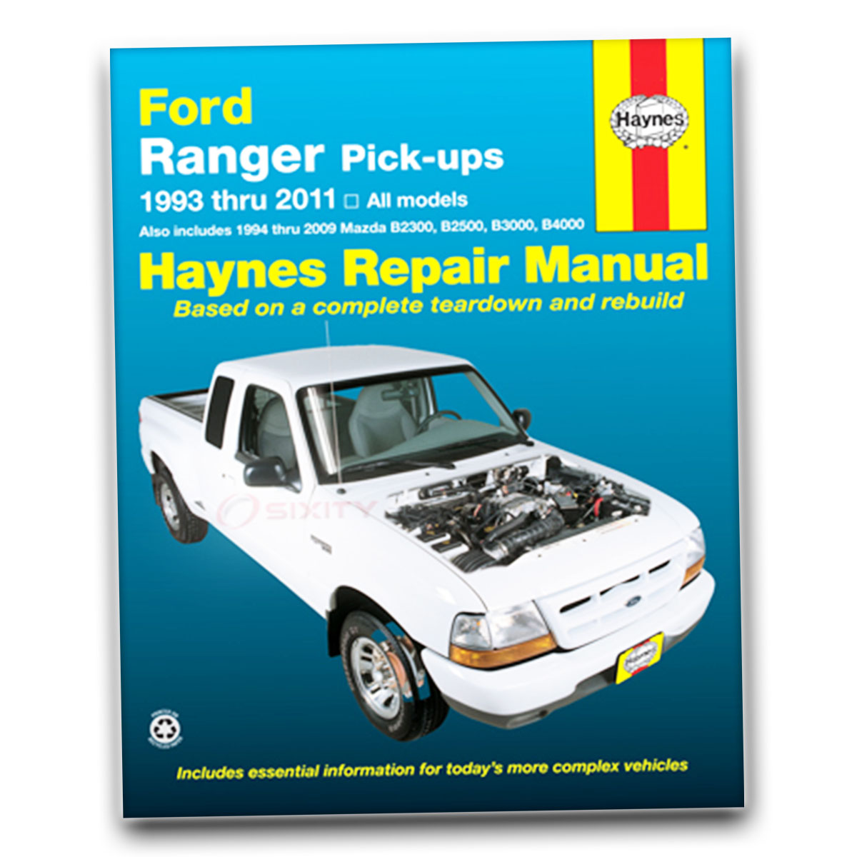 Mazda B4000 Haynes Repair Manual LE Troy Lee Base DS SE Shop Service Garage  jp