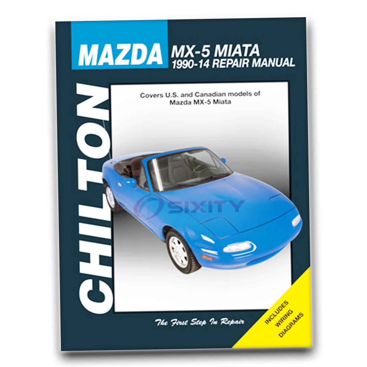 Chilton Repair Manual for Mazda Miata 10th Anniversary M Edition Base LE  STO lx
