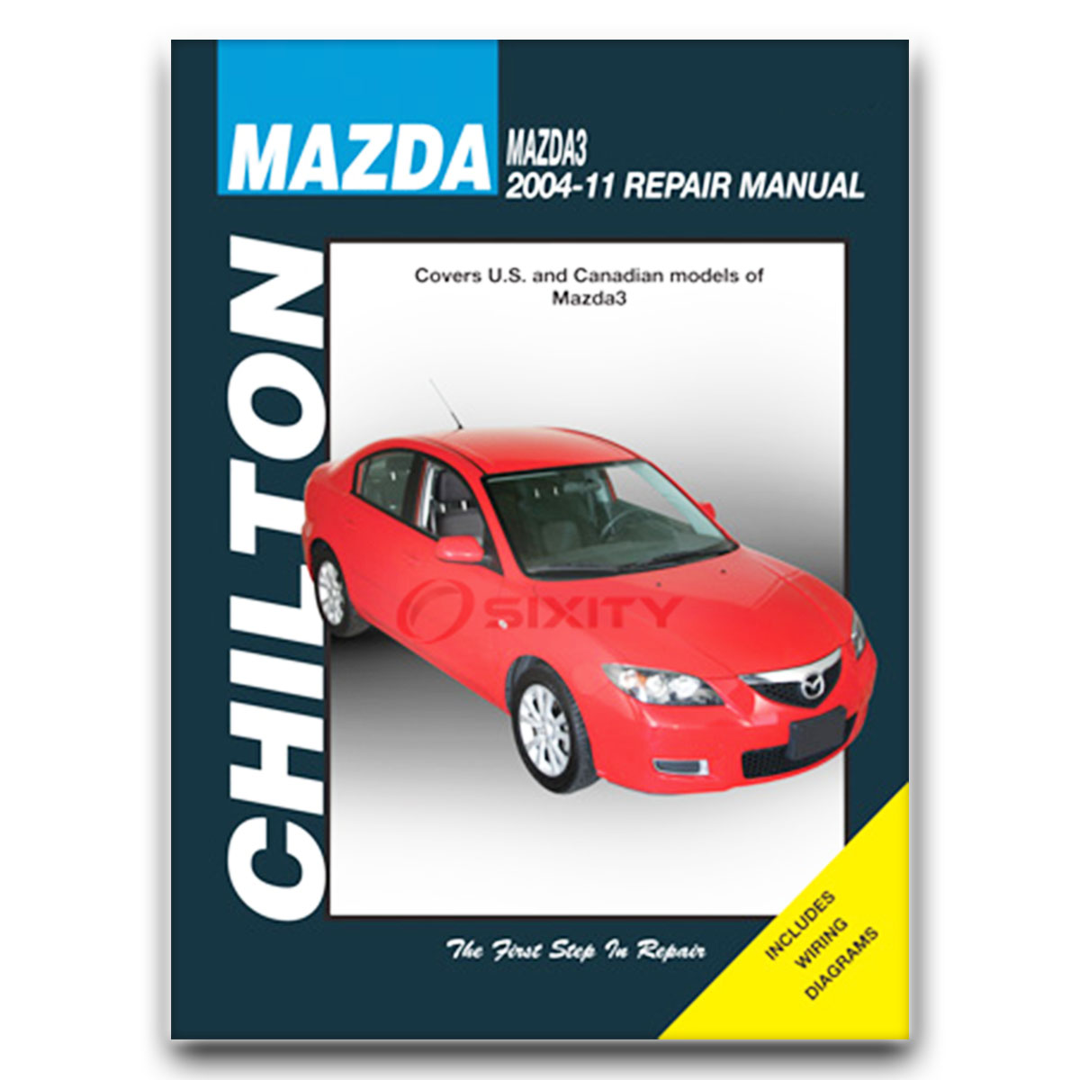 Mazda 3 chilton repair manual s i mazdaspeed sp23 shop service sx621 repair book cheapraybanclubmaster