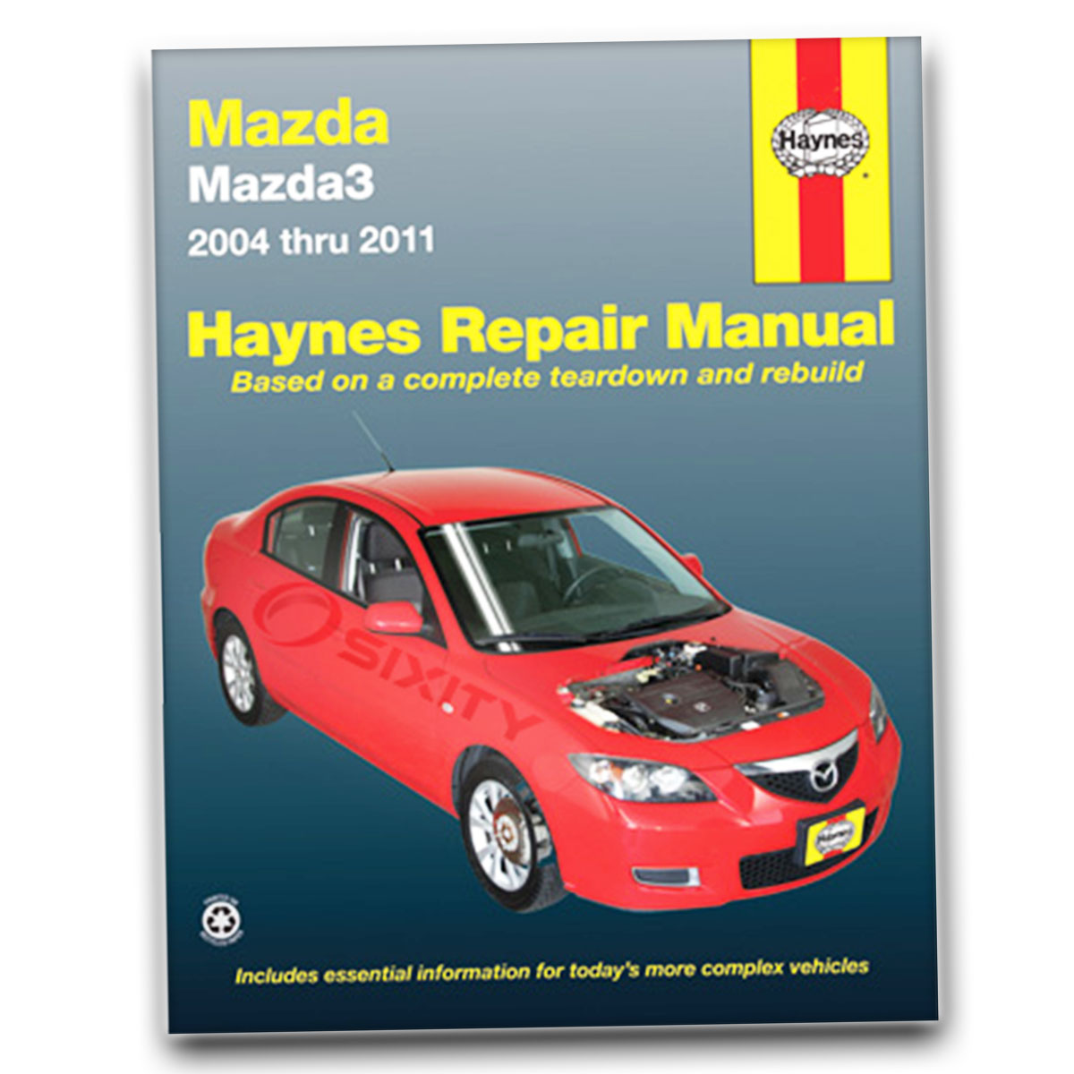 mazda 3 haynes repair manual i mazdaspeed sp23 shop service garage rh ebay com Clymer Manuals Haynes Manuals for 2003 Jeep