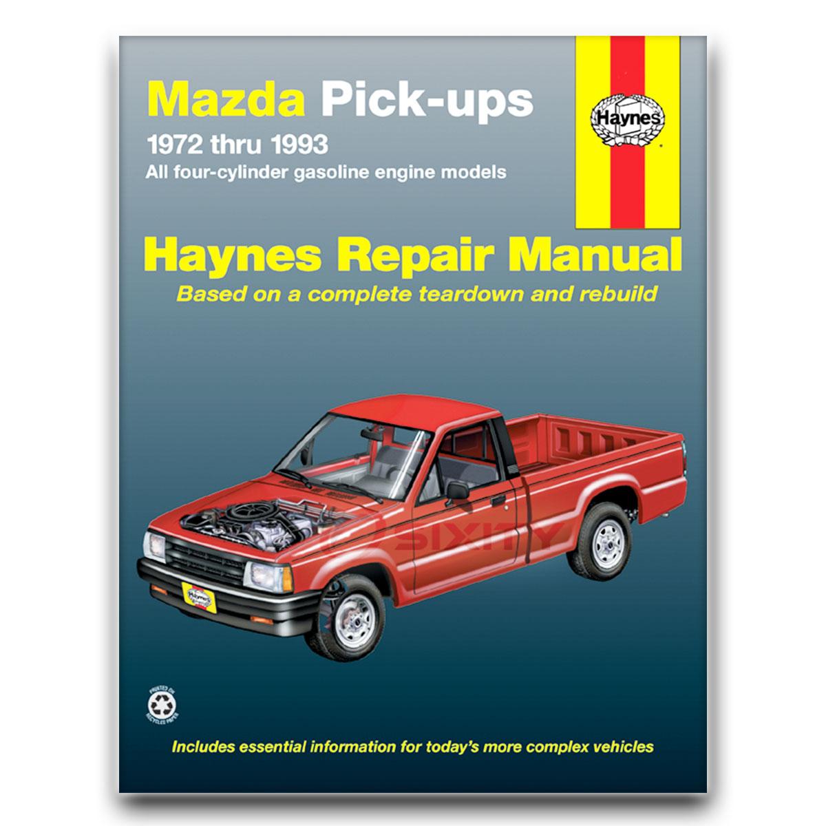 mazda b1600 haynes repair manual base shop service garage book mc ebay rh ebay com Mazda B2600i mazda b1600 workshop manual pdf