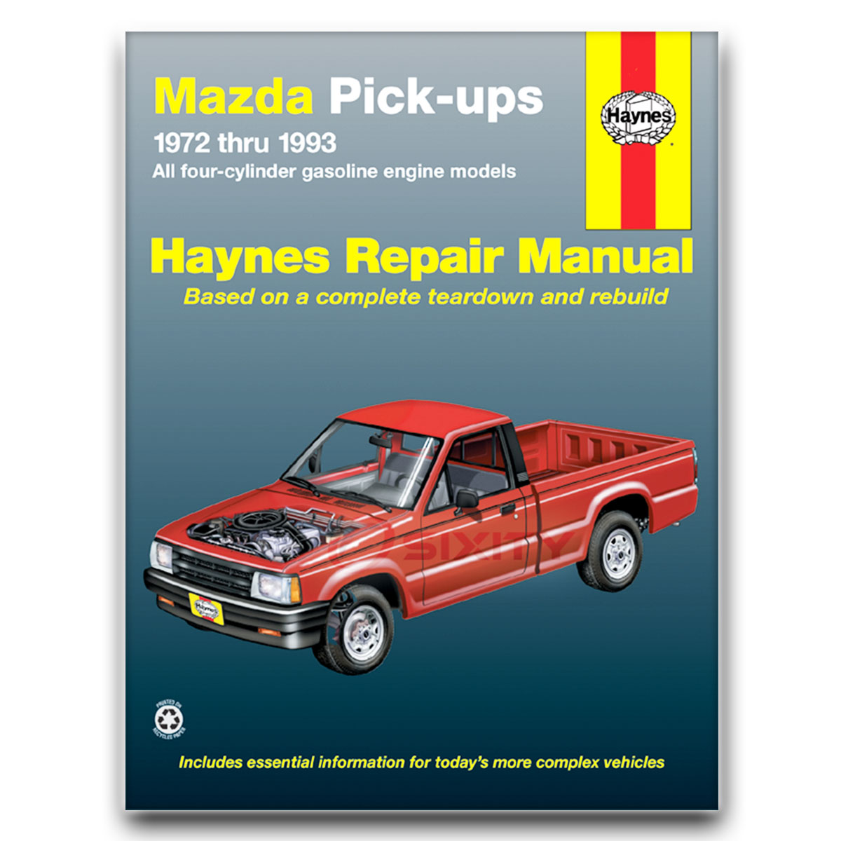 Haynes Repair Manual for Mazda B2000 Sundowner Sport LX Base SE-5 DLX Shop  ff
