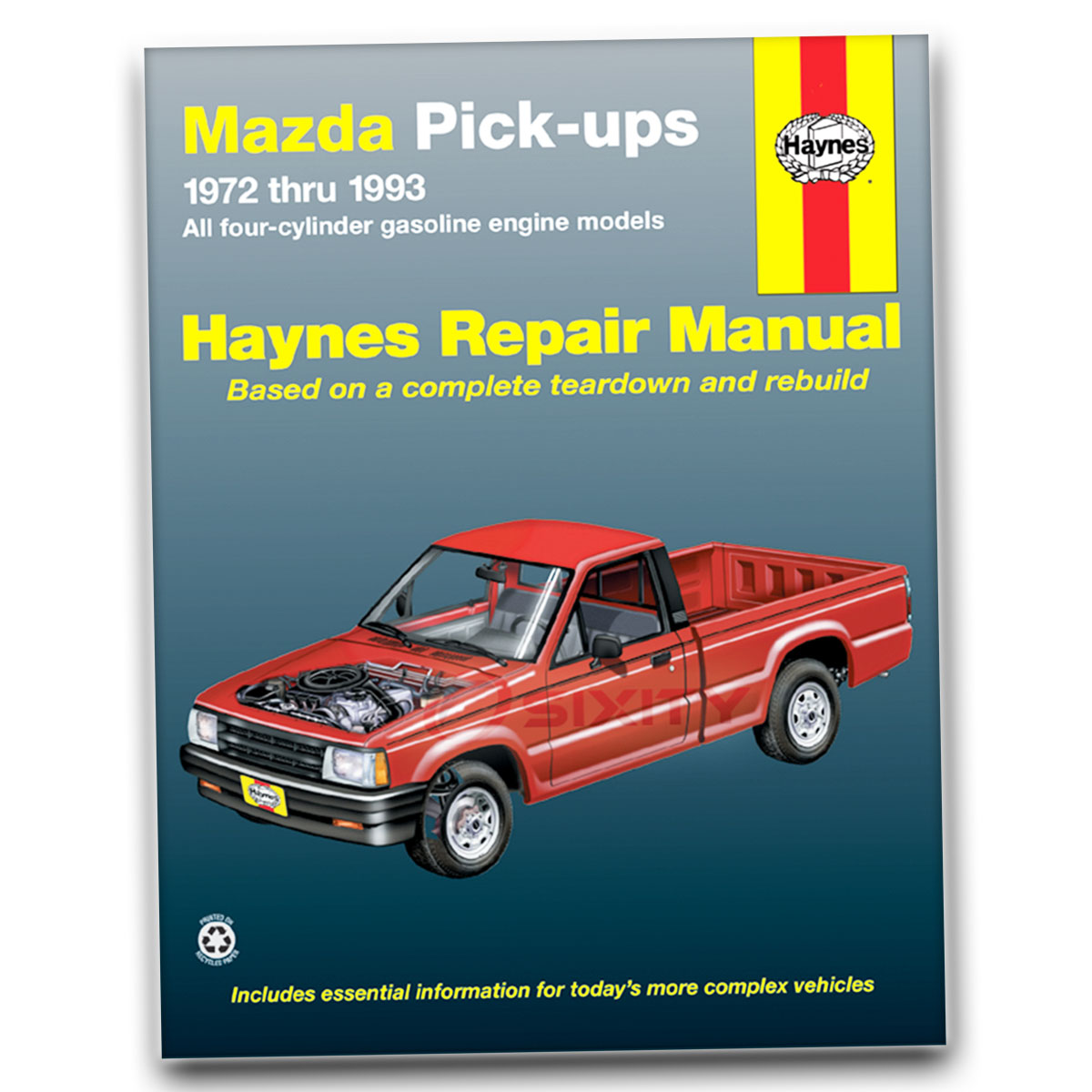 mazda b2200 haynes repair manual sundowner base le 5 se 5 lx dlx rh ebay com mazda b2600 workshop manual pdf 1998 mazda b2600 workshop manual
