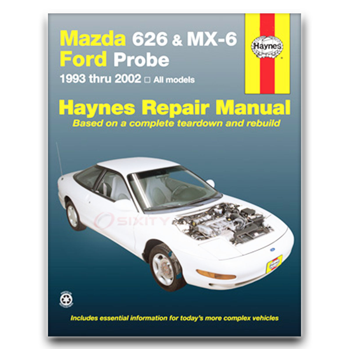 Haynes Repair Manual For 1993-2002 Mazda 626