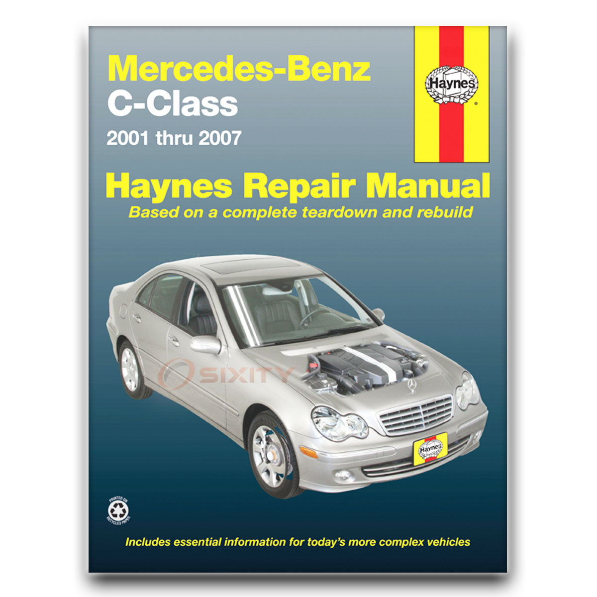 Haynes Repair Manual for Mercedes C230 Sport Kompressor Shop Service Garage  dr