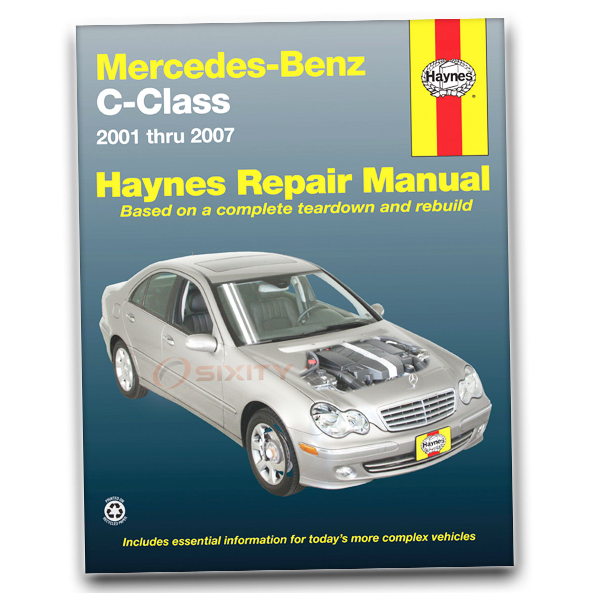 Mercedes c240 haynes repair manual base 4matic shop for Mercedes benz c240 tune up