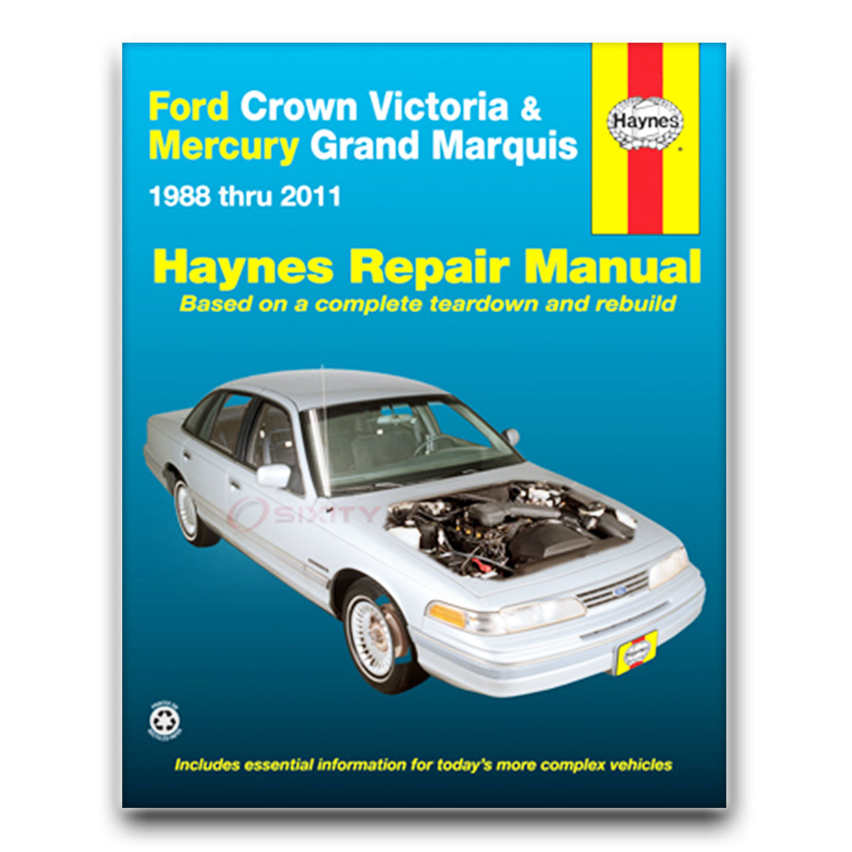 mercury grand marquis haynes repair manual ls gsl ultimate edition rh ebay com Custom Ford Crown Victoria Ford Crown Victoria Police Car