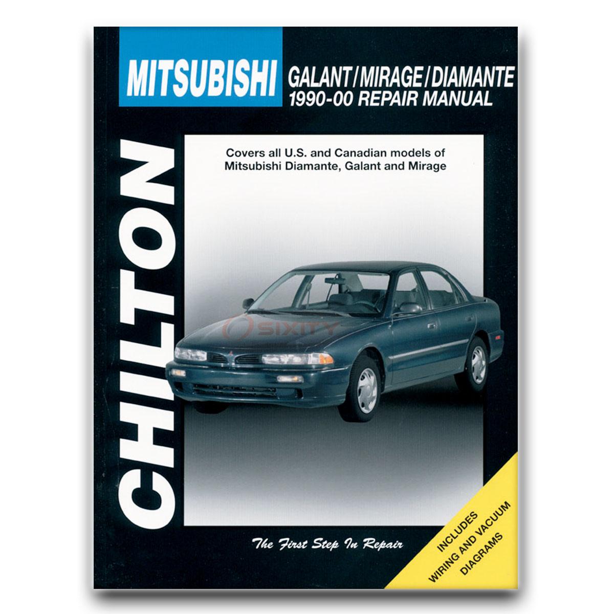 mitsubishi galant chilton repair manual vr 4 gsx ls gsr de gtz base rh ebay com Mitsubishi Galant Transmission Standard Mitsubishi Galant Transmission Standard