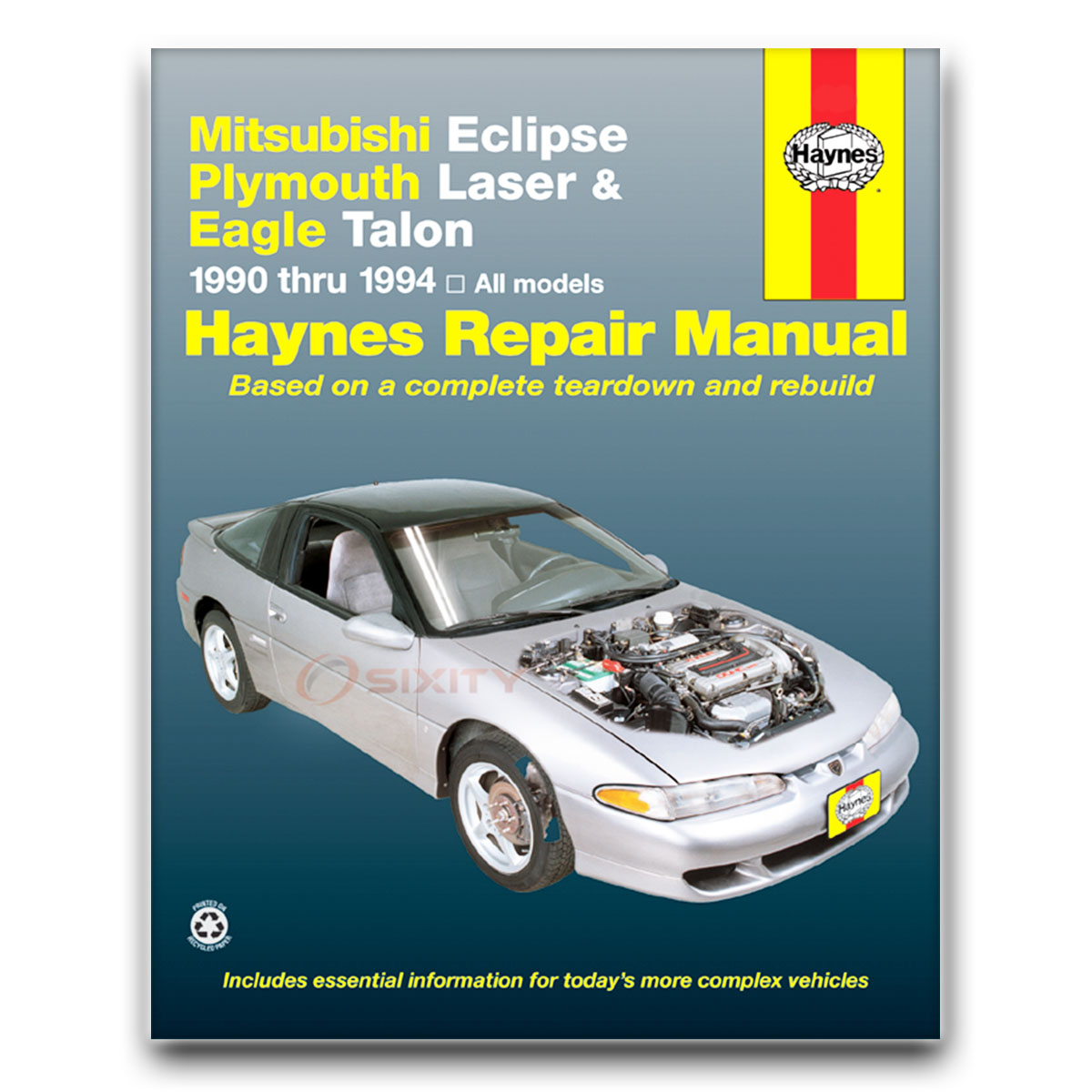 mitsubishi eclipse haynes repair manual base gsx gst shop service rh ebay  com 2006 mitsubishi eclipse repair manual mitsubishi eclipse workshop manual