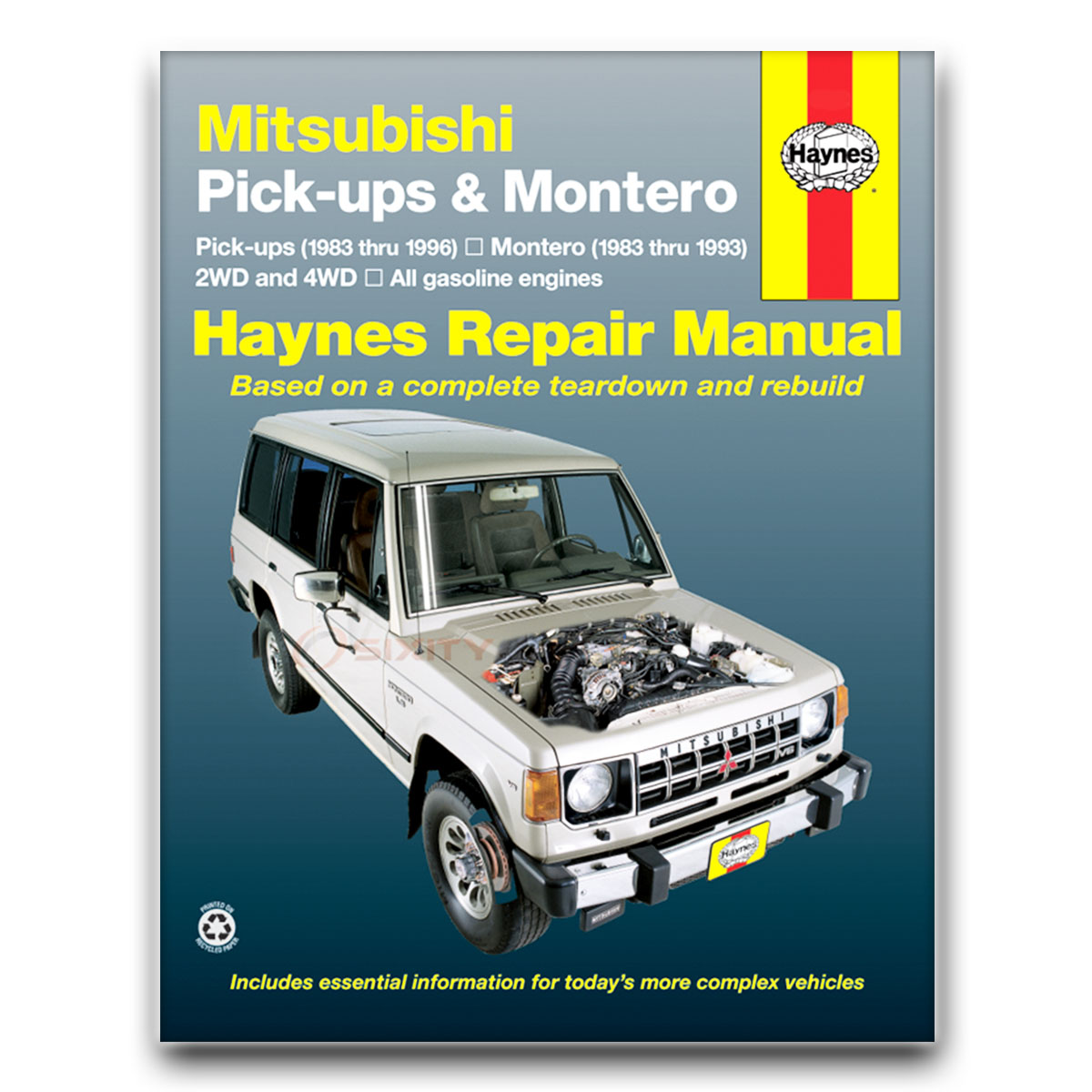 haynes repair manual for mitsubishi mighty max spx sport 1 ton base rh ebay  com 1996 Mitsubishi Mighty Max Lifted 1994 Mitsubishi Mighty Max Manual