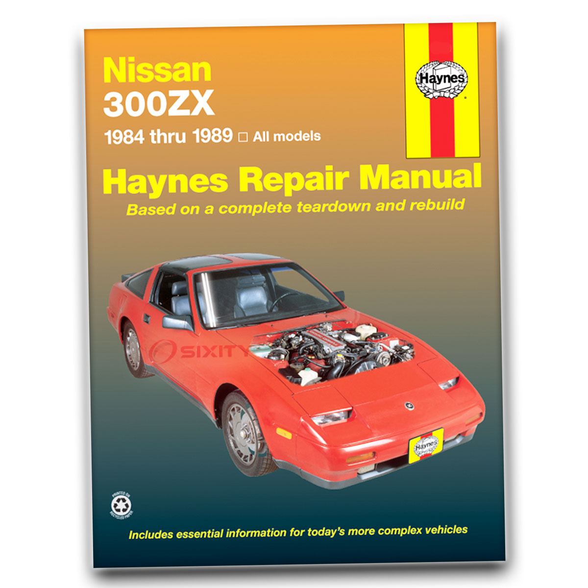 nissan 300zx haynes repair manual 2 2 base turbo shop service garage rh ebay com nissan 300zx repair manual download nissan 300zx repair manual pdf