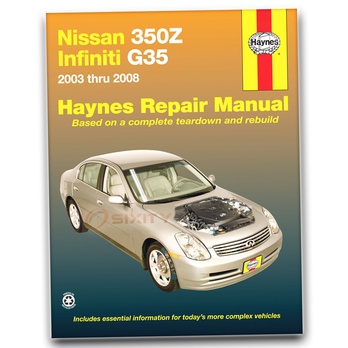 nissan 350z haynes repair manual performance grand touring rh ebay com Manual Book Maintenance Manual