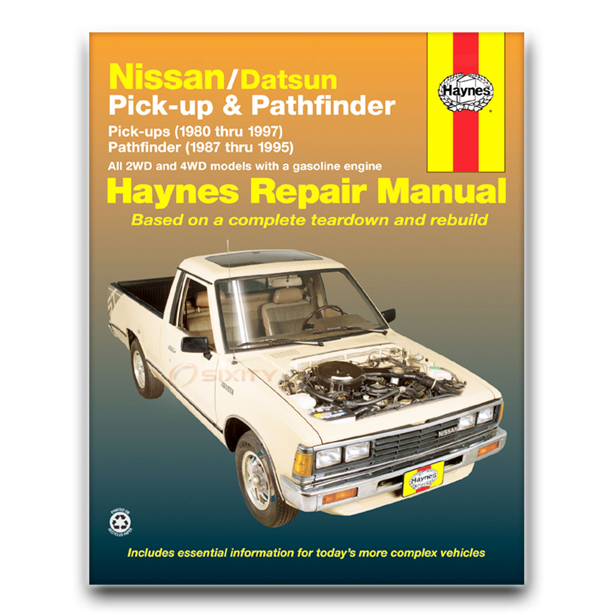 nissan 720 haynes repair manual base sport truck deluxe shop service rh ebay com 1985 Ford Ranger 1988 Ford F-150
