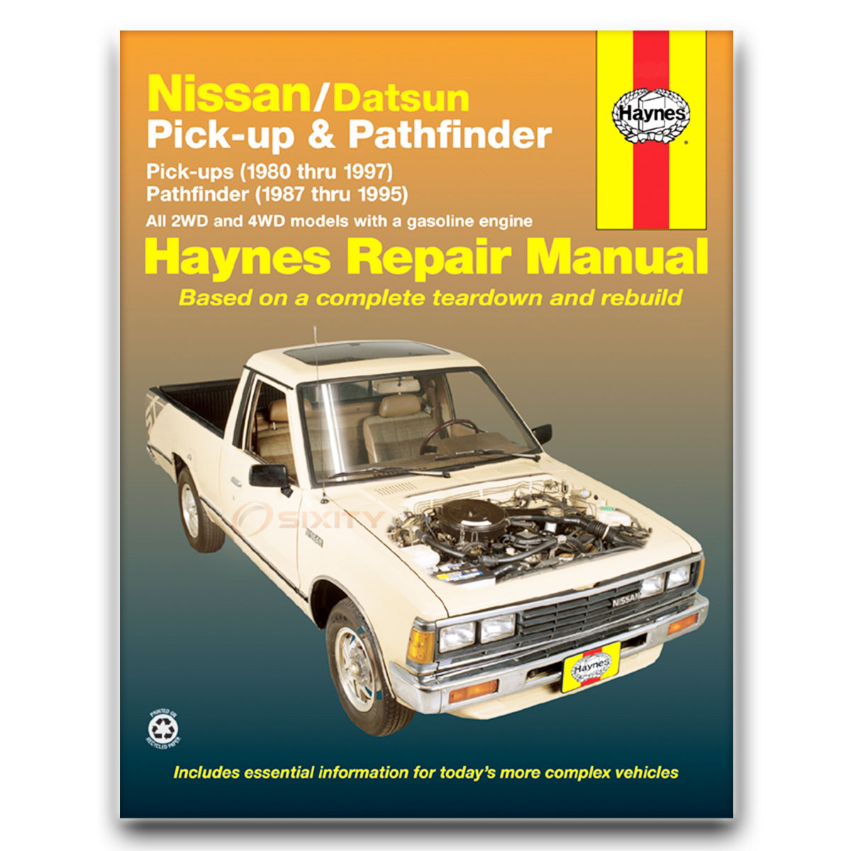 Haynes Repair Manual for Nissan Pickup XE Base SE Shop Service Garage Book  kj