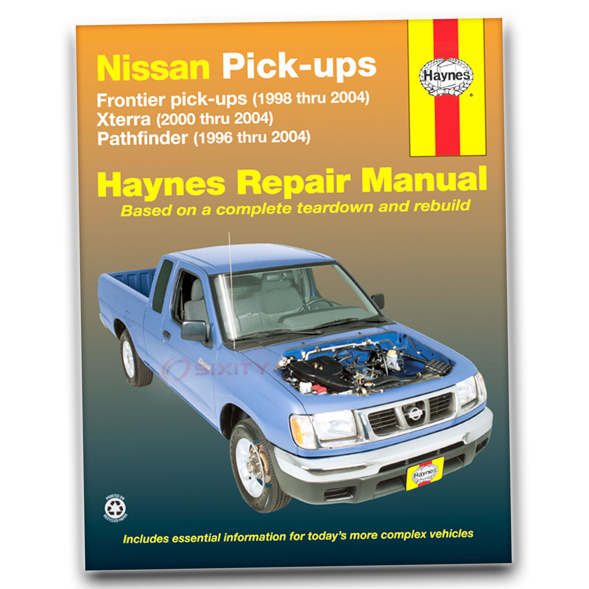 Haynes Repair Manual for Nissan Pathfinder XE LE SE Armada Shop Service ay