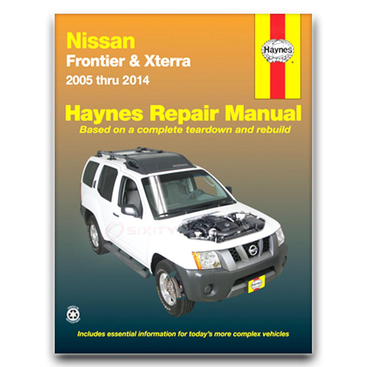 nissan frontier haynes repair manual xe se sv le pro 4x sl nismo off rh ebay com