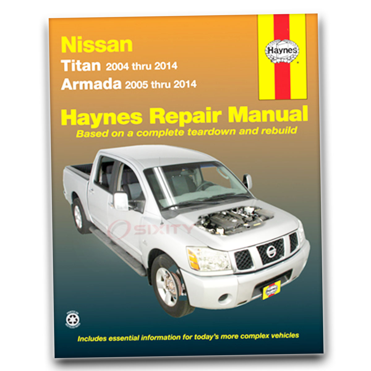 nissan titan haynes repair manual xe se le pro 4x shop service rh ebay com 2008 Nissan Titan nissan titan manual door unlock