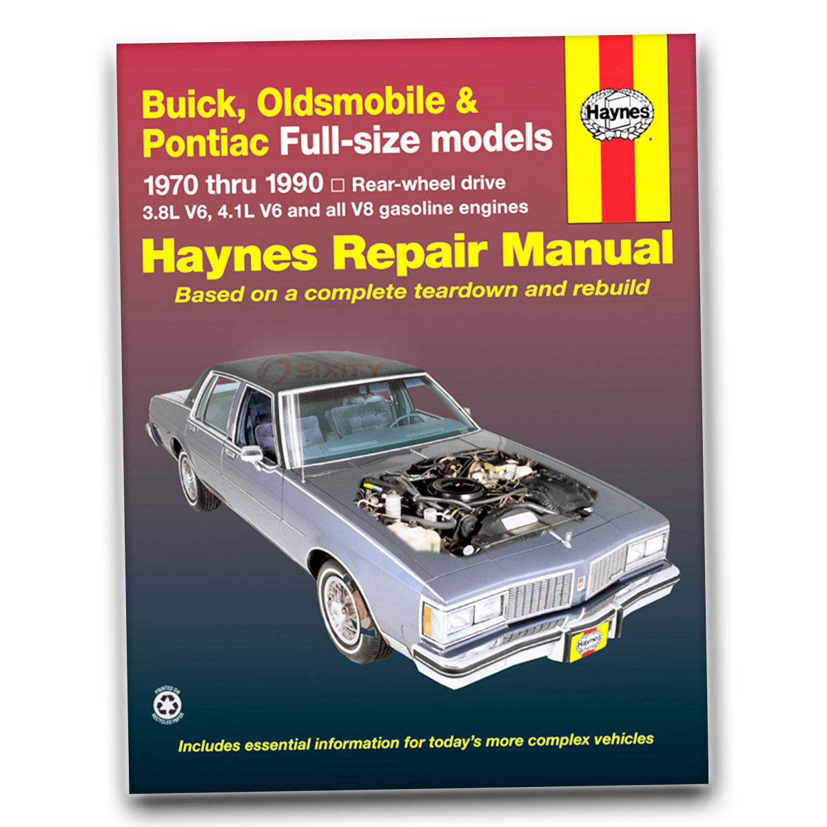 Oldsmobile 98 Haynes Repair Manual Regency Luxury Base