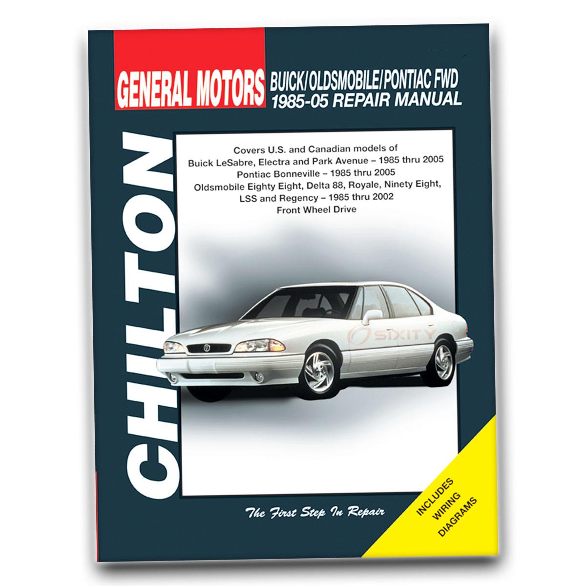 1996 Oldsmobile 88 Repair Manual