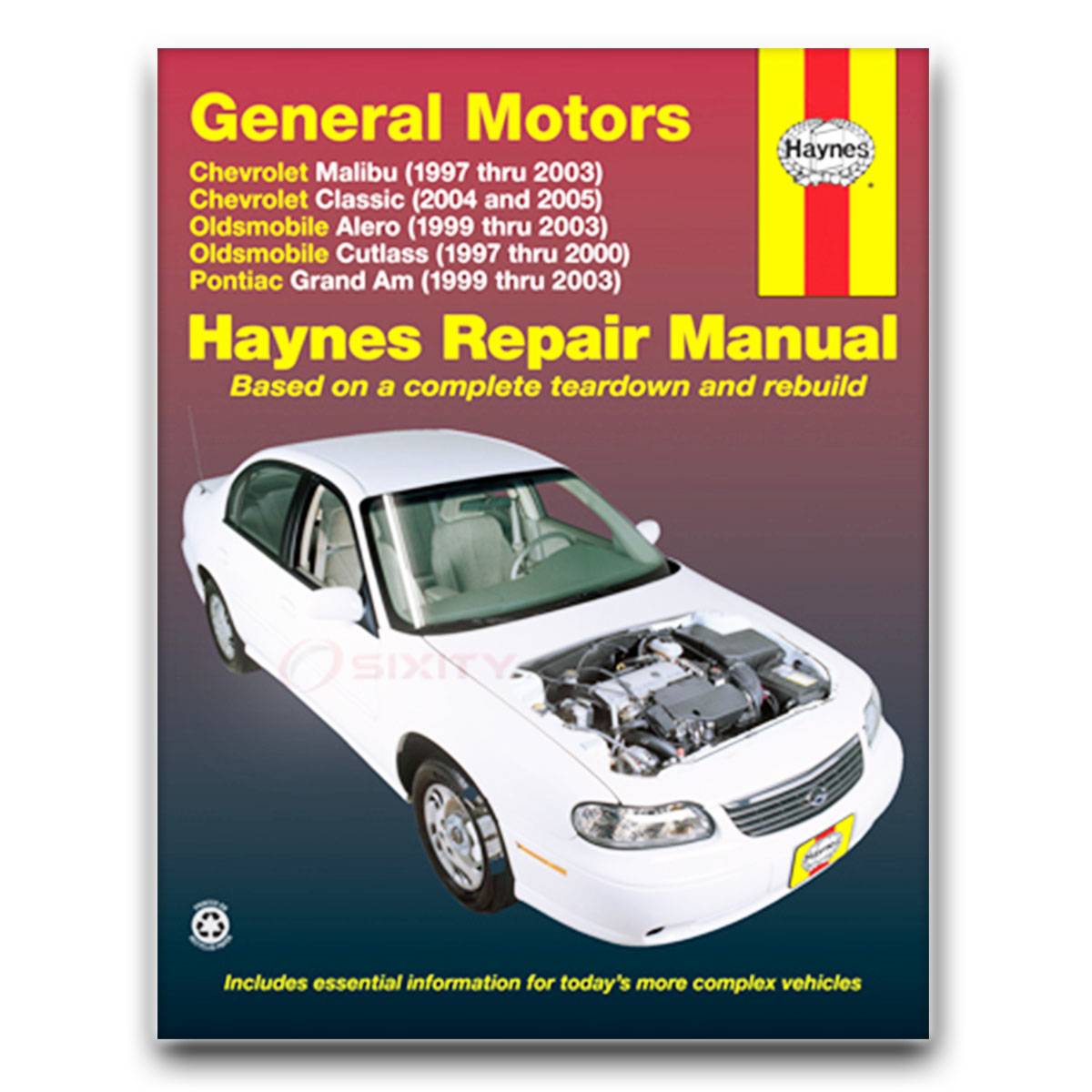 Haynes Repair Manual for Oldsmobile Alero GLS GX Shop Service Garage Book fe