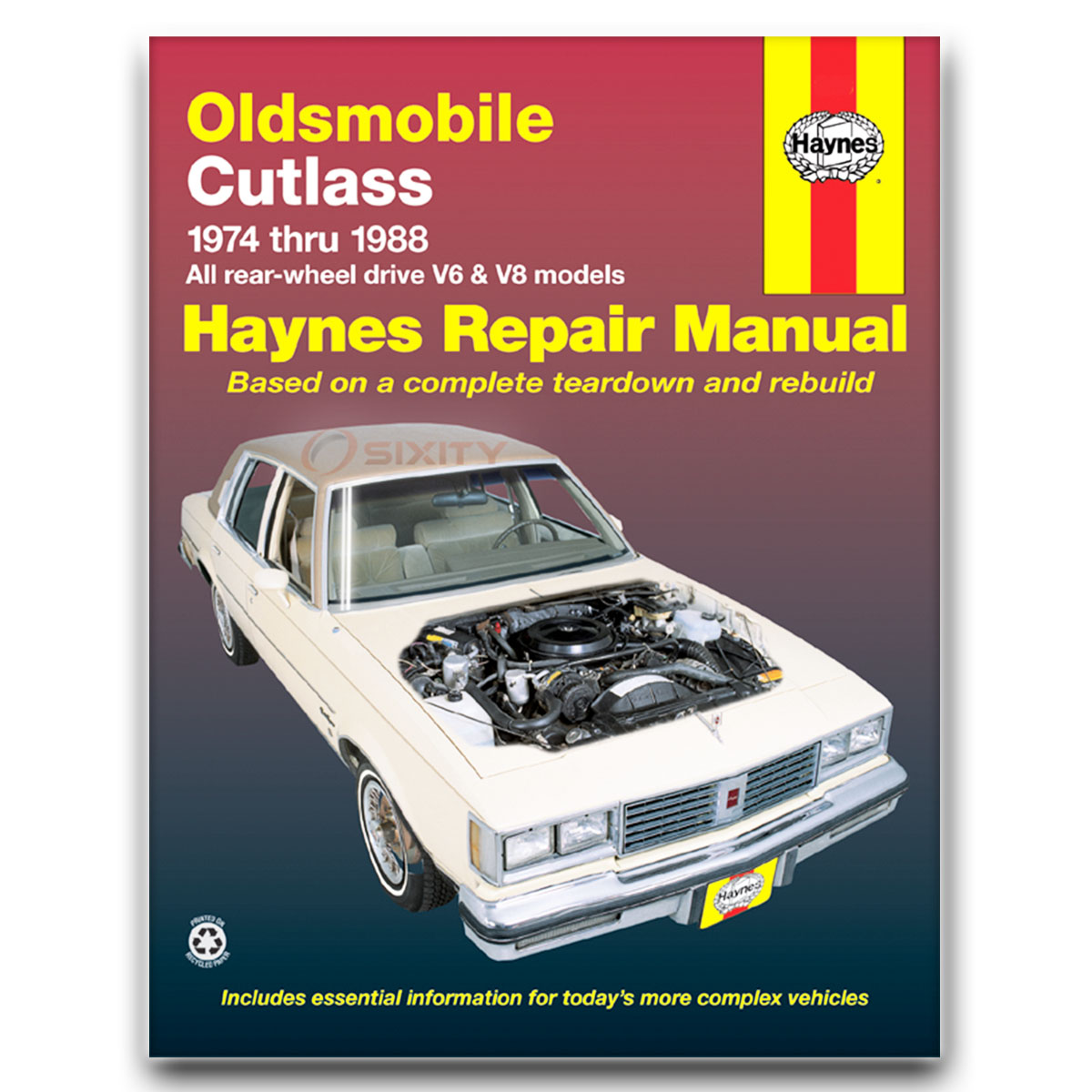 Haynes Repair Manual for Oldsmobile Cutlass Supreme Classic Brougham Shop fo