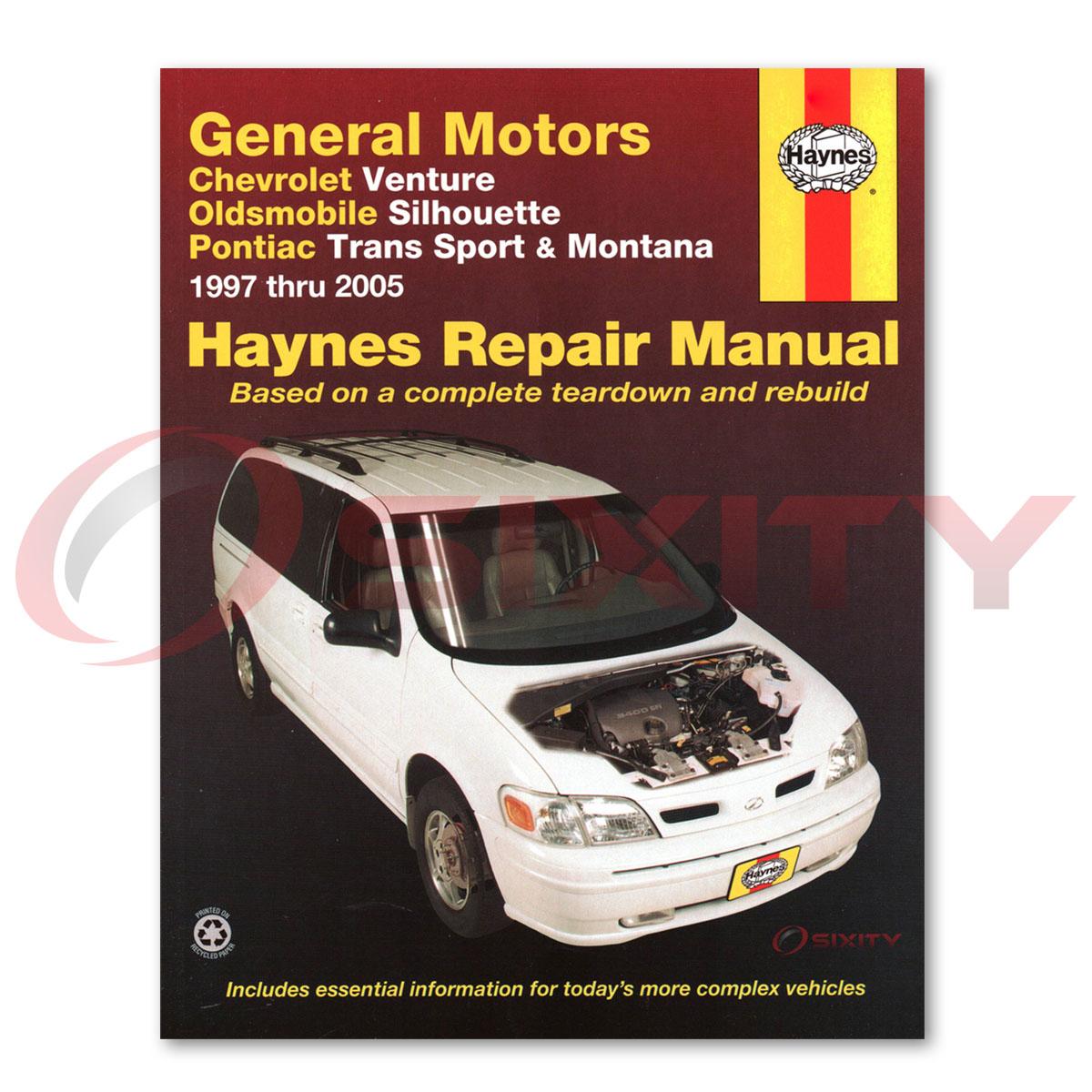 repair manuals montana sv6