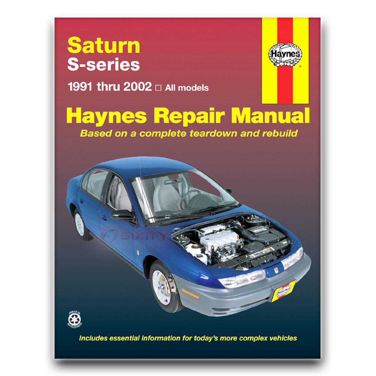 saturn sc2 haynes repair manual base shop service garage book gj ebay rh ebay com 2002 Saturn Sc1 2002 Saturn SL