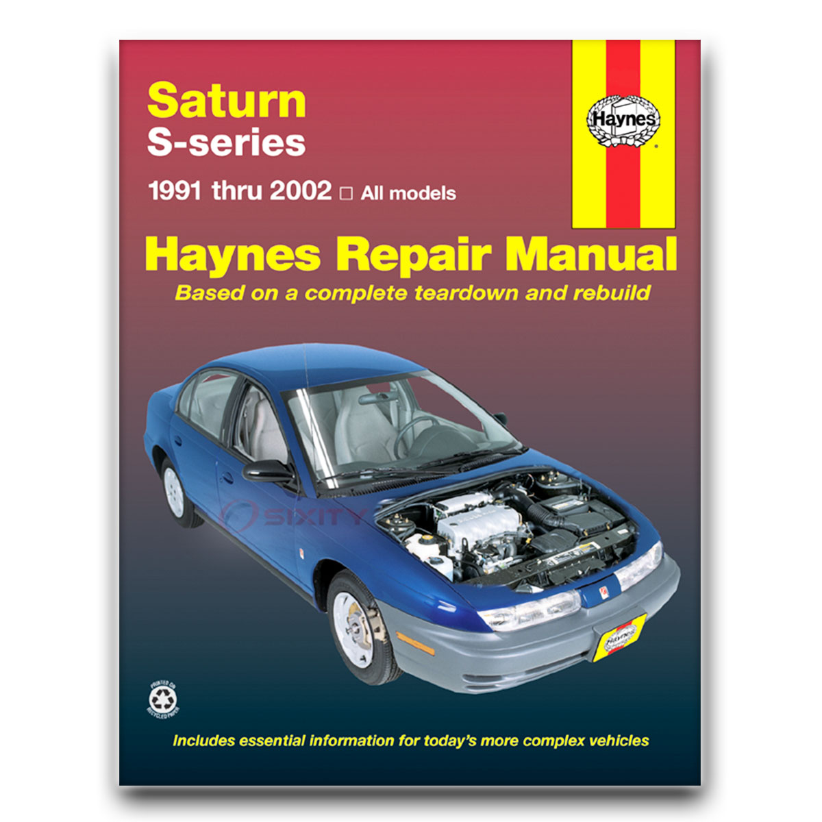 Saturn Sl2 Haynes Repair Manual Base Shop Service Garage