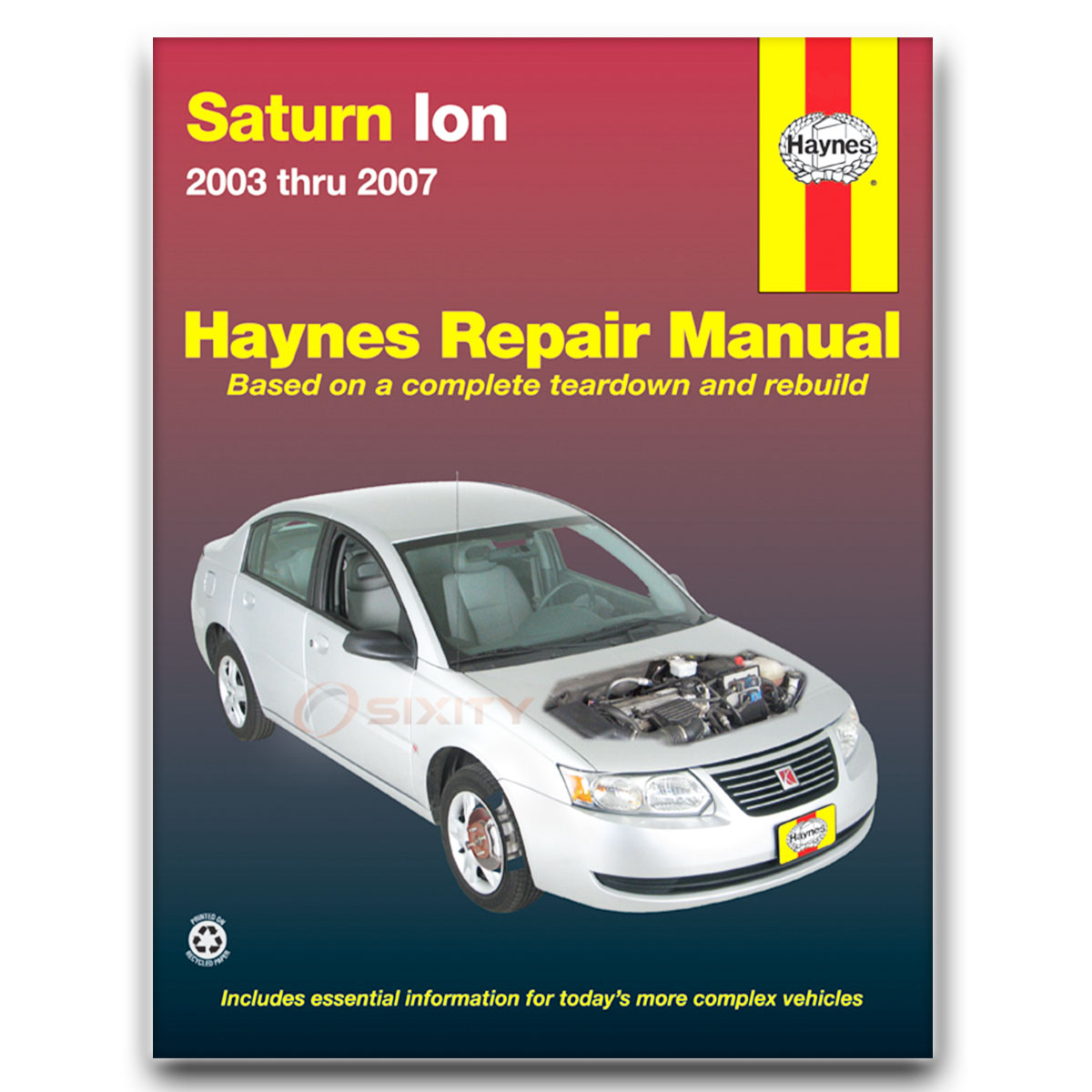 saturn ion haynes repair manual red line shop service garage book ux rh ebay com repair manual for 2006 saturn ion 2007 Saturn Ion