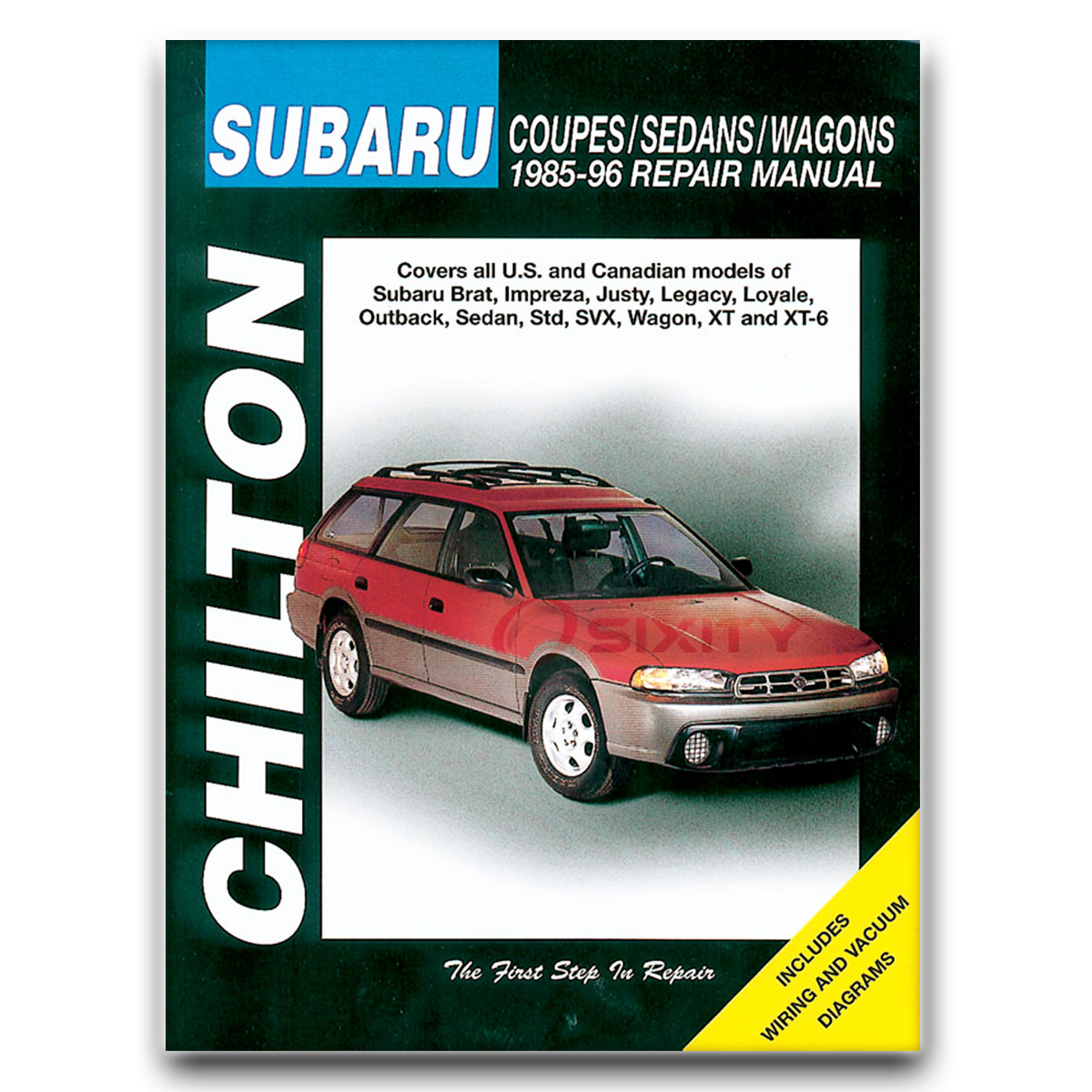 Subaru Svx Service Manual 1992 Wiring Diagram Chilton Repair For Lsl Lsi Shop Garage Rh Ebay Com Wrx Brz