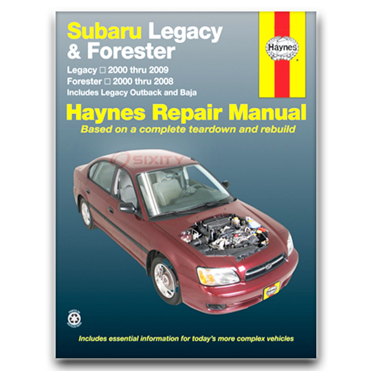 Haynes Repair Manual for Subaru Baja Sport Turbo Base Shop Service Garage ep