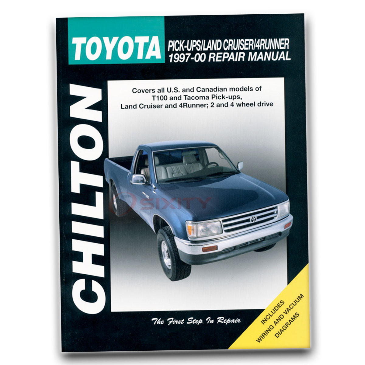 Chilton Repair Manual for Toyota 4Runner SR5 Limited Base Shop Service jm