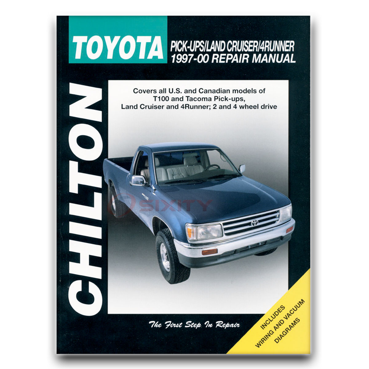 Chilton Repair Manual For 1997-2000 Toyota Tacoma