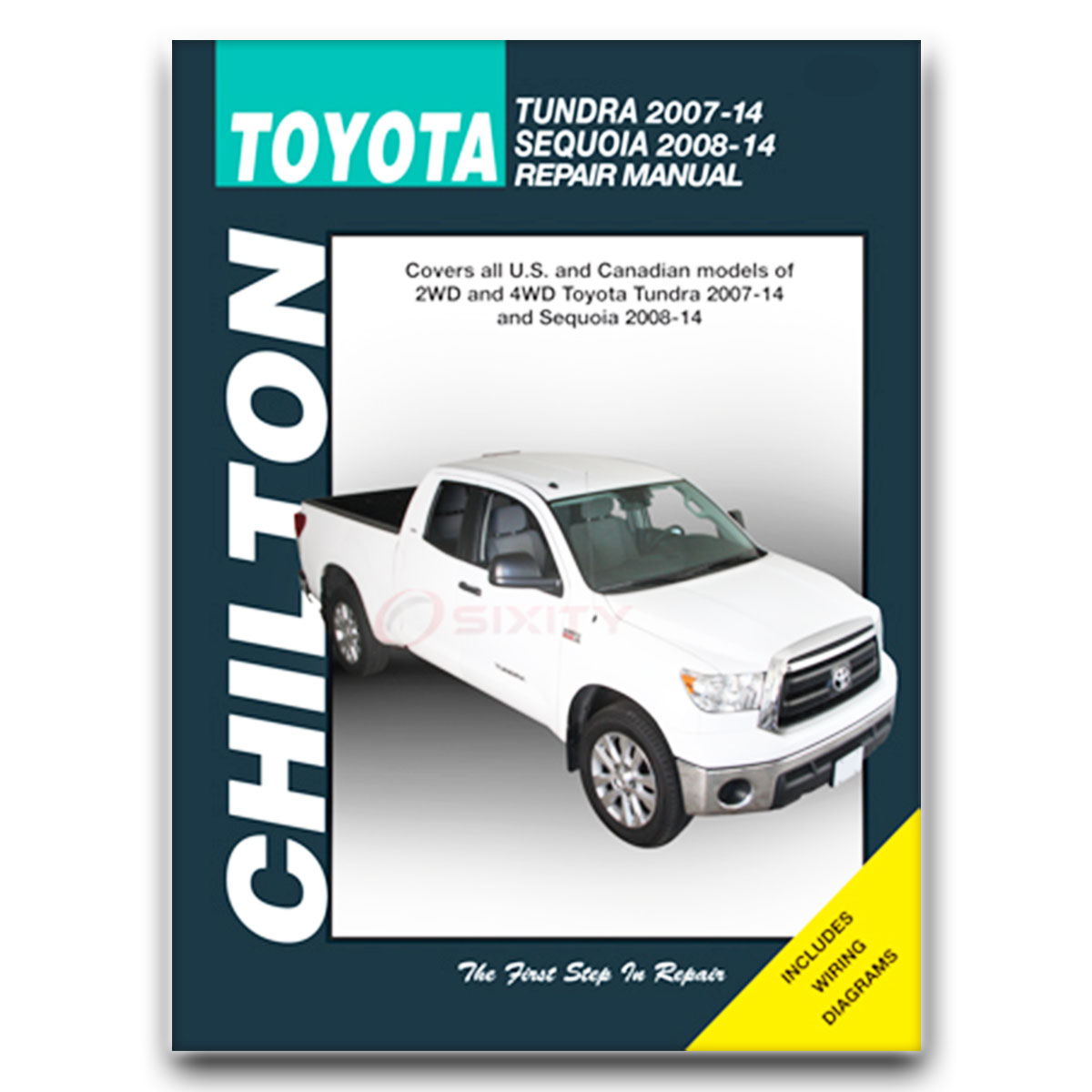 Chilton Repair Manual For 2007-2014 Toyota Tundra