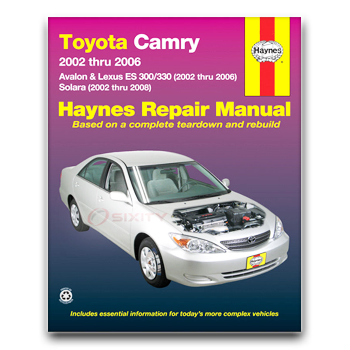 Haynes Repair Manual for Toyota Avalon XLS Limited Touring Shop Service wt