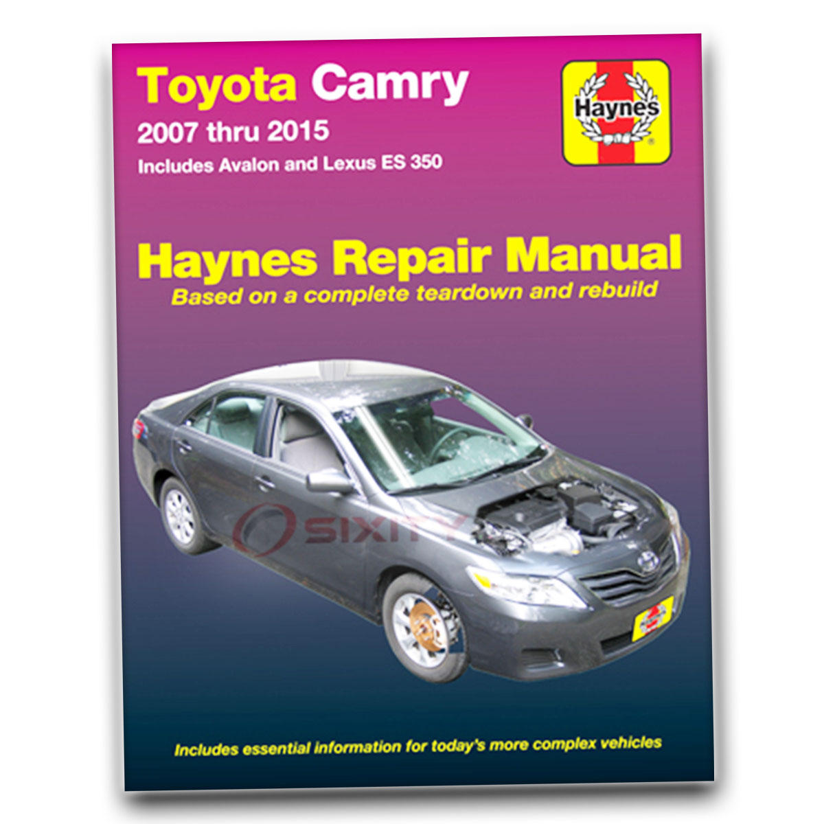 Haynes Repair Manual For Toyota Camry Le Base Ce Xle Se Service Garage Ws